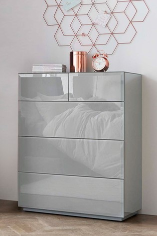 Sloane Collection Luxe 5 Drawer Multi Chest