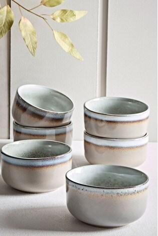 Set of 6 Cox & Cox Maja Stoneware Cereal Bowls