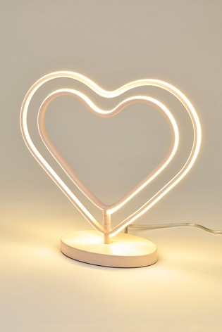 Heart LED Table Lamp
