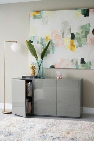 Sloane Grey Large Sideboard