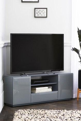 Sloane Grey Corner TV Stand