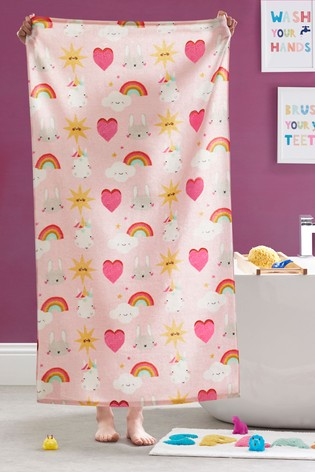 Unicorn And Friends Towel