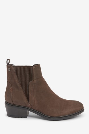 Brown Forever Comfort® Ribbed Elastic Chelsea Boots