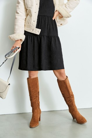 Slouch Knee High Boots from the Next UK