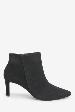 Black Forever Comfort® Chisel Toe Ankle Boots