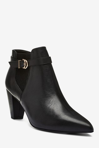 Leather Shoe Boots from Next Turkey