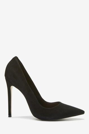 Black Emma Willis Leather Shoes