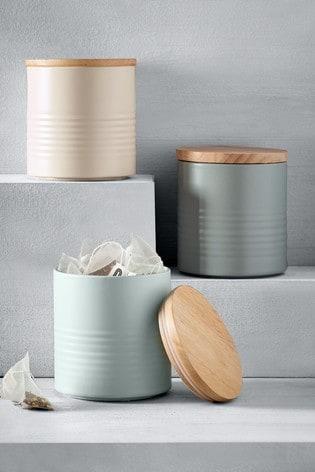 Ripple Set of 3 Storage Tins