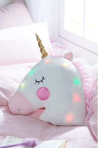 Light-Up Unicorn Cushion