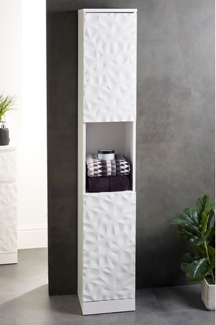 Mode Textured Tall Storage Unit