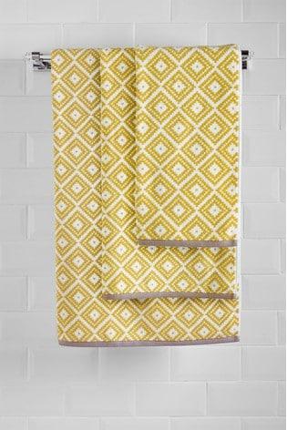 Diamond Geo Towel