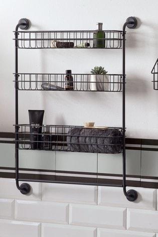 Bronx Three Tier Wall Shelves