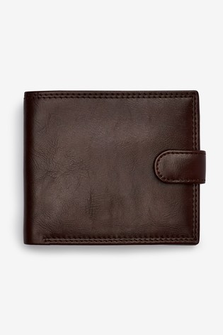 Brown Popper Wallet