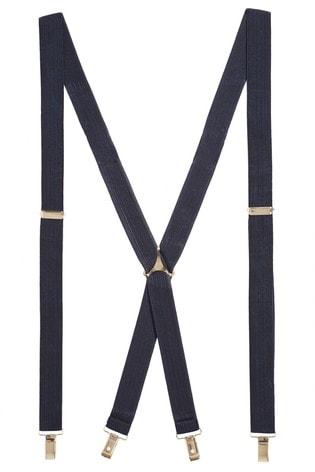 Navy Classic Men's Braces