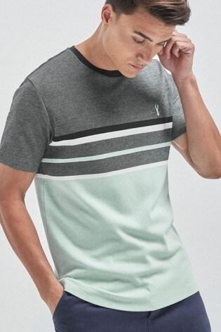Mint Block Soft Touch Regular Fit T-Shirt