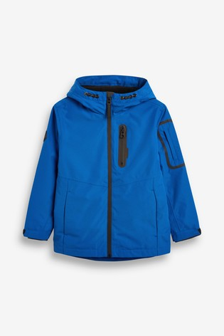 Cobalt Fully Waterproof Anorak (3-16yrs)