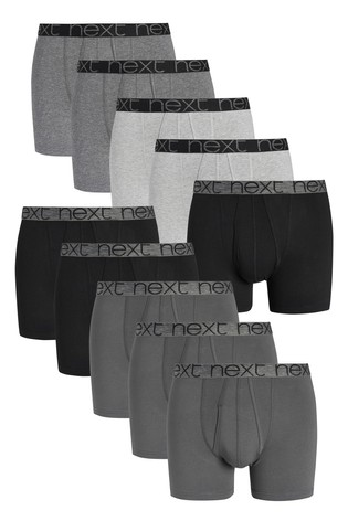 Grey A-Fronts Ten Pack