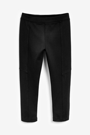 Black Ponte Trousers (3-16yrs)