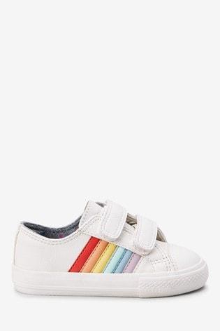 Buy White Rainbow Touch Fastening