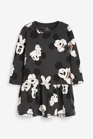 Charcoal Mickey Mouse™ Jersey Dress (3mths-7yrs)