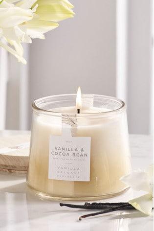 Vanilla & Cocoa Bean Lidded Jar Candle