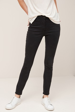 Black Soft Touch Skinny Jeans