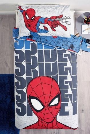 Spider-Man™ Single Duvet Cover And Pillowcase Set