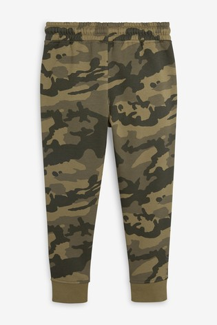 Camouflage Skinny Fit Cuffed Joggers (3-16yrs)