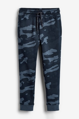 Blue Camo Skinny Fit Cuffed Joggers (3-16yrs)