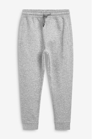 Grey Slim Fit Cuffed Joggers (3-17yrs)