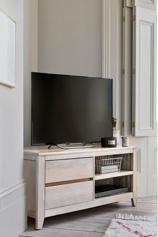 Amsterdam Light Corner TV Stand