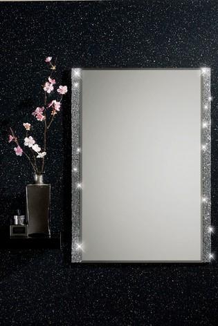Harper Mirrored Single Bathroom Cabinet