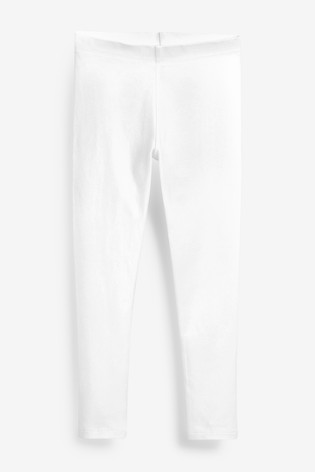 White 1 Pack Leggings (3-16yrs)