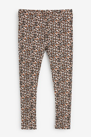 Animal Print Leggings (3-16yrs)