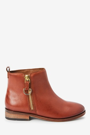 Buy Tan Leather Zip Chelsea Boots Older From The Next Uk Online Shop