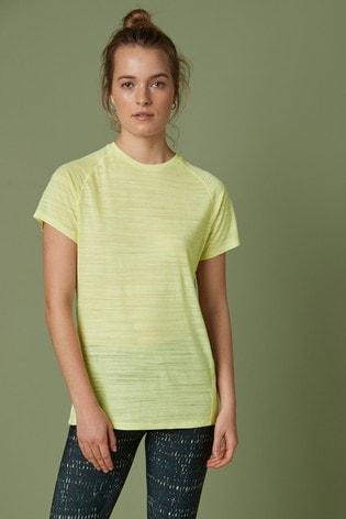 Lemon Short Sleeve Sports T-Shirt