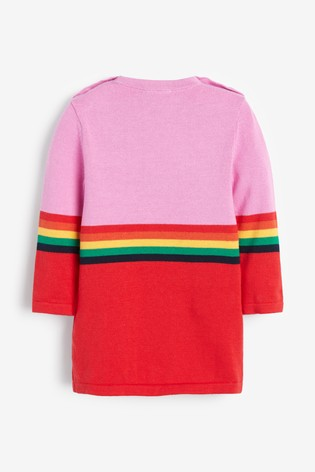 Mix/Madeleine Thompson Knitted Baby Dress