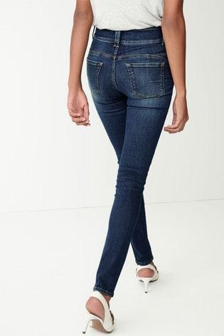 Dark Wash Enhancer Skinny Jeans