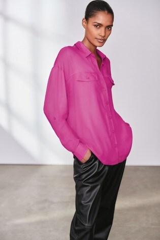 Pink Utility Shirt