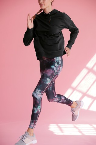 Floral Print Technical Leggings