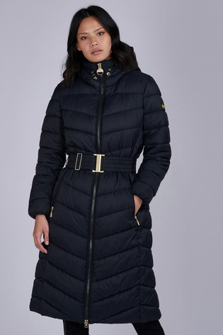 Barbour® International Longline Maxi Padded Lineout Coat