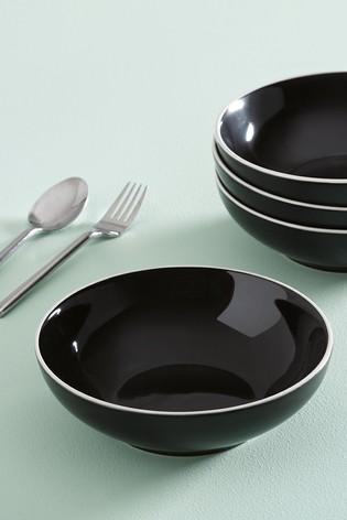 Warwick Set of 4 Pasta Bowls