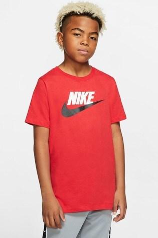 Nike Red Futura Icon T-Shirt