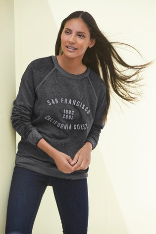 Charcoal San Fran Graphic Sweatshirt