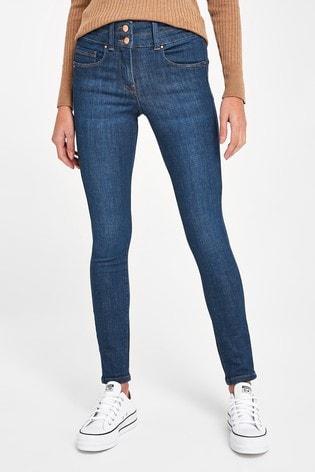 Royal Blue Lift, Slim And Shape Skinny Jeans