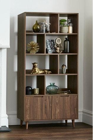 Oslo Walnut Display Shelf