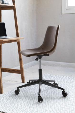 Wyatt Faux Leather Office Chair