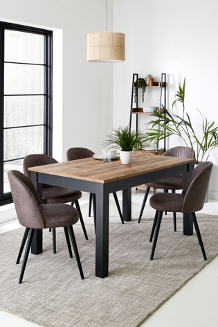 Bronx 6-10 Seater Double Extending Dining Table