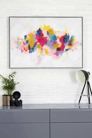 Artist Collection Bright Abstract by Victoria Friend