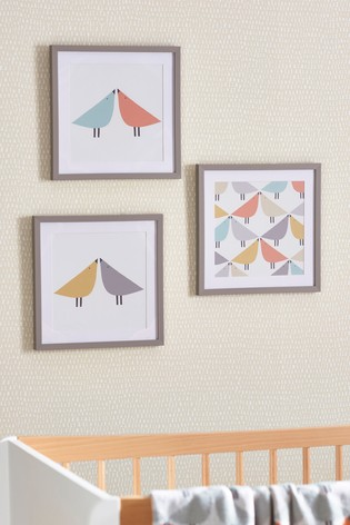 Set of 3 Scion Living Exclusively At Next Framed Prints